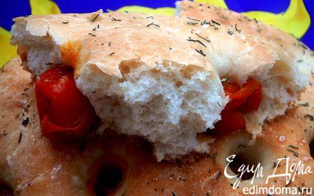 Рецепт Фокачча с помидорами черри