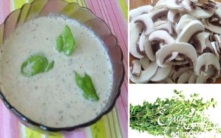 Рецепт Суп-крем из шампиньонов