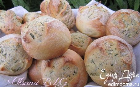 Рецепт Болгарские булочки с укропом