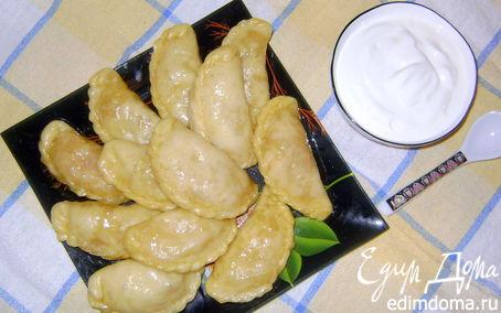 Рецепт Вареники (тесто на кефире) в пароварке