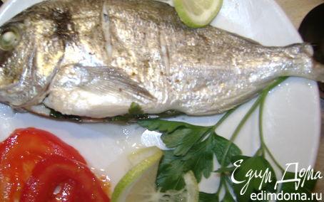 Рецепт Mорской лещ (дорада) запеченная в фольге