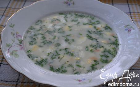 Рецепт – Суп с плавленым сыром