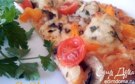 Рецепт Пицца по-деревенски