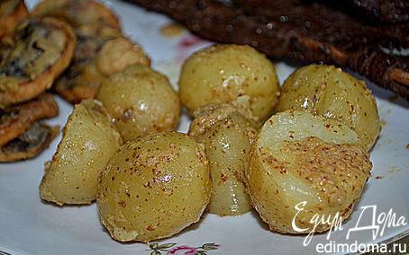 Рецепт Молодой картофель с горчицей