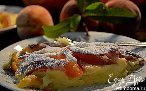 Рецепт Персиковое клафути