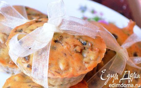 Рецепт Маффины с грибами и сыром Чеддер