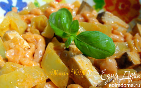 Рецепт Швабская домашняя лапша - томатные шпетцле