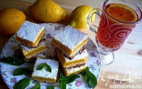 Рецепт Лимонные квадратики (Lemon Bars)