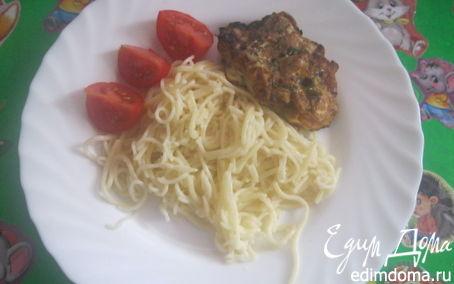 Рецепт Куриные котлетки с грибным соусом