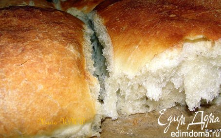 Рецепт Домашний, белый хлеб