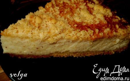 Рецепт Большая ватрушка или пирог с творогом