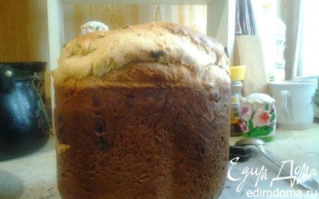 Рецепт Вкусная булка к чаю в хлебопечке