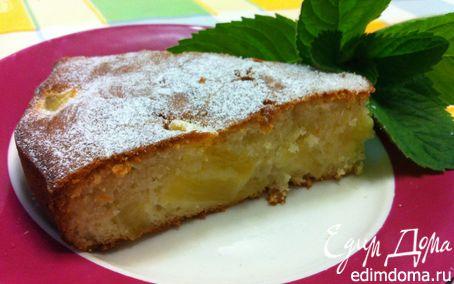 Рецепт Торт с ананасом и кокосом от Джейми Оливера
