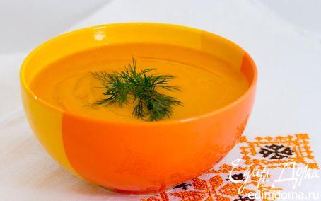 Рецепт Суп-пюре «Оранжевое настроение»