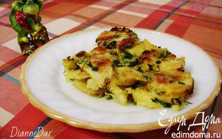 Рецепт Молодой картофель под сливочным соусом