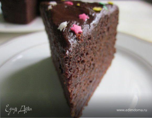 Шоколадный торт со... свеклой (постный)