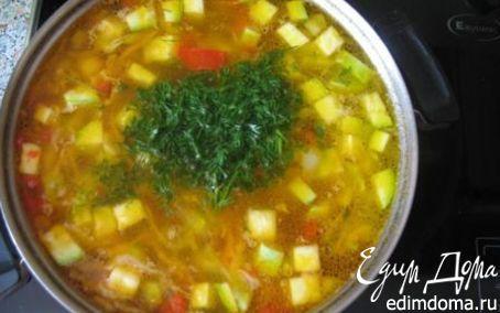 Рецепт Суп из кабачков