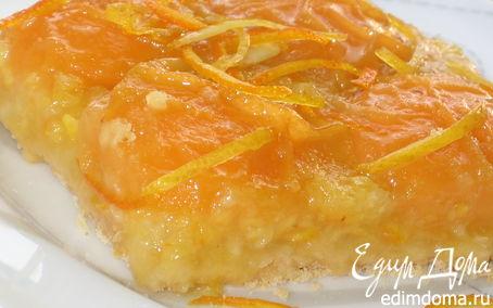 Рецепт Пирог абрикосовый «Оранжевое лето»