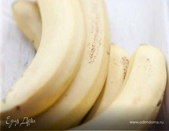 Пюре из запеченных бананов