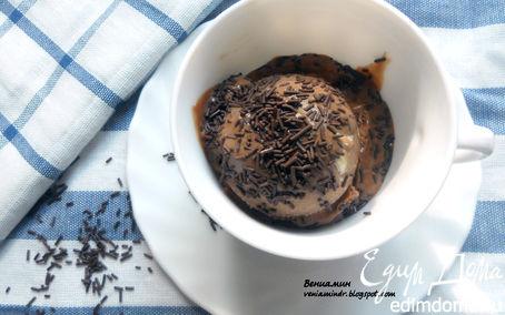 """Рецепт Мороженое """"Бригадейро"""" (с вареной сгущенкой и арахисом) для Алевтины:)"""
