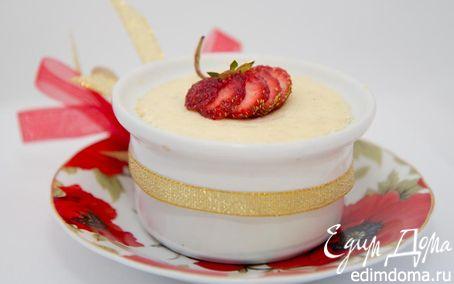 Рецепт Творожный пудинг с бананом в пароварке