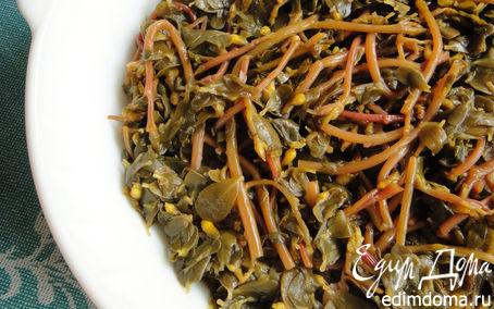 Рецепт Салат из портулака (из дандура)