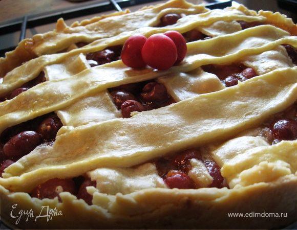 Английский традиционный черешневый пирог