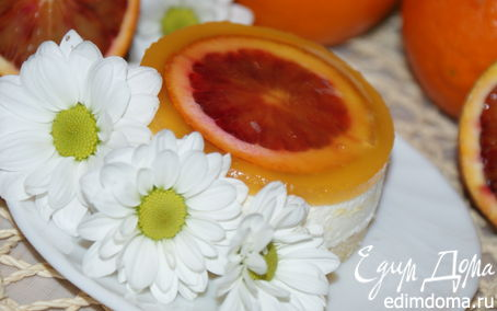 Рецепт Апельсиновое пирожное