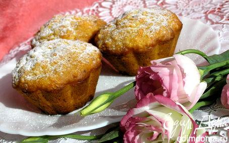 Рецепт Морковные кексы с фундуком