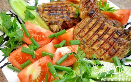 Рецепт Свинина, обжаренная на сковородке-гриль