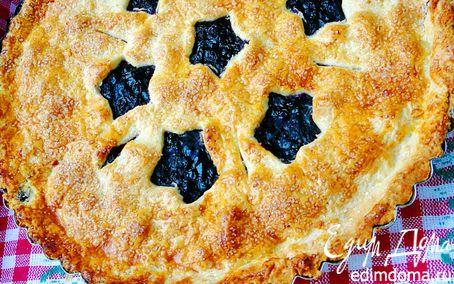 Рецепт Классический черничный пирог(для Cheer Nika)