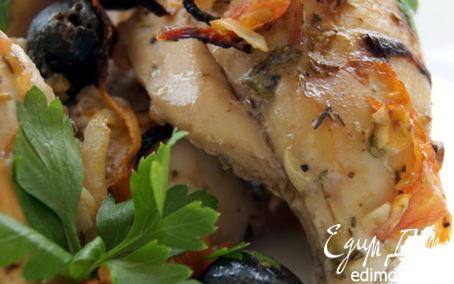 Рецепт Запеченная курица по-провански