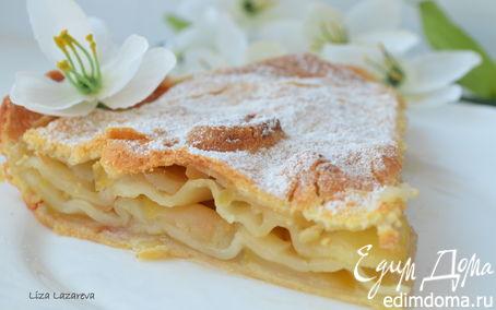 Рецепт Яблочный слоеный пирог
