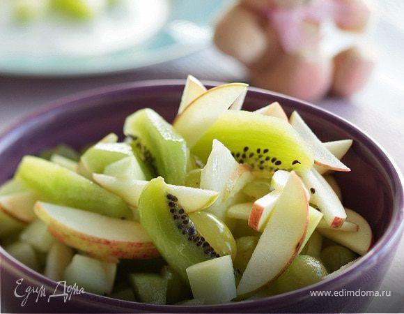 Зеленый фруктовый салат