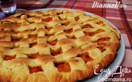 Рецепт Ароматный абрикосовый пирог