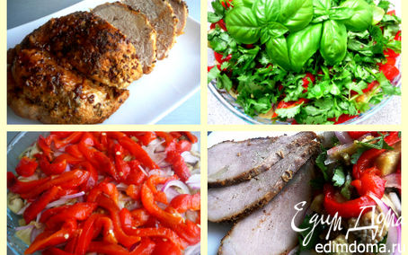 Рецепт Буженина из мультиварки + бонус (запеченные овощи)