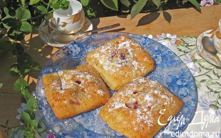 Рецепт Творожные пирожные с вишней