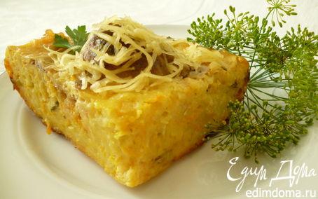 Рецепт Картофельная запеканка с мясными шариками