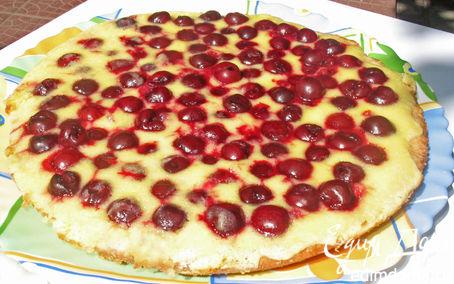 Рецепт Вишневый тарт