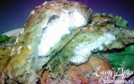 Рецепт Летние пирожки, слоеные зеленью