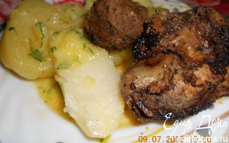 Рецепт Свинина на гриле (мангале)