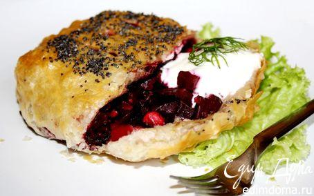 Рецепт Пирожки со свекольной начинкой