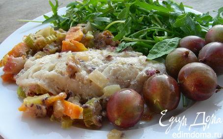 Рецепт Рыба с соусом из крыжовника