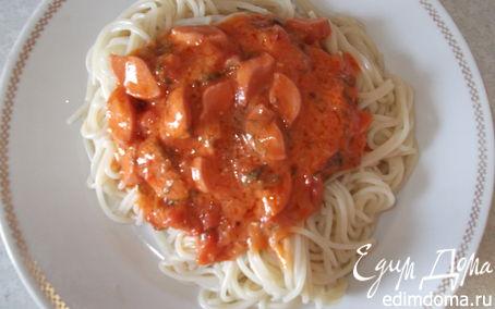 """Рецепт Спагетти """"На скорую руку"""""""
