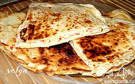 Рецепт Фаршированный блинчик из лаваша