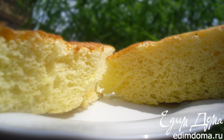 Рецепт Дебютный рецепт бисквита