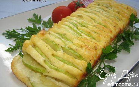 Рецепт Творожно-рисовый кекс с кабачками