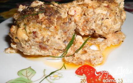 Рецепт Гречневые тефтели в сливочно-томатном соусе
