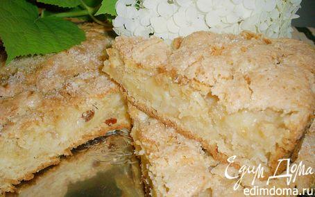 Рецепт Пирог яблочный с изюмом