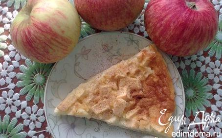 Рецепт Флонярд с яблоками